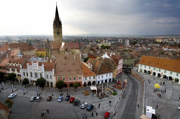 ROMANIA SIBIU EUROPEAN CULTURAL CAPITAL